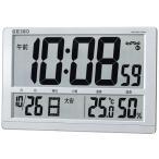 SEIKO セイコー デジタル電波時計 SQ433S