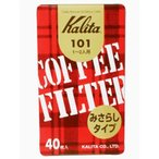 cocoattaで買える「カリタ ブラウン 101濾紙(40枚入) 1-2人用」の画像です。価格は117円になります。