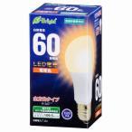 オーム電機 LED電球 一般電球形 E26 60W相当 電球色 全方向タイプ 密閉器具対応 LDA7L-G AG22