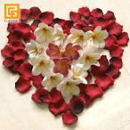 ローズの花びら   造花 バラ 赤 リアル ウェルカムフラワー ウェディング 結婚式 フラワーシャワー バリ雑貨 インテリア メール便対応可