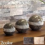 Marble Sphere (dots design) 3set(2色展開)   おしゃれ オブジェ ...