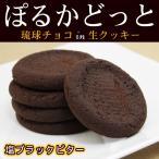 ぽるかどっと 塩ブラックビター 20個入 (琉球チョコin生クッキー) 沖縄お土産 お菓子