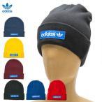 アディダス オリジナルス キャップ ウーブン ロゴ ビーニー adidas Originals WOVEN LOGO BEANIE LMQ06 メンズ レディース トレフォイル 帽子