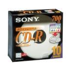 ソニー / プリント対応CD-R 700MB 5mmプラ 10枚 / 10CDQ80DPWS