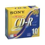 ソニー / データ用CD-R 700MB 5mmプラ 10枚 / 10CDQ80DNS