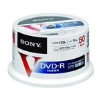ソニー/CPRM対応ビデオ用DVD-R 16倍速 50枚スピンドルケース入