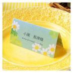 結婚式 席札 エテ 夏 台紙 6名分 手作り キット おしゃれ 安い 用紙