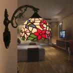 壁掛けライト ウォールライト 壁掛け照明 ブラケットライト 玄関灯 室内照明 北欧 インテリア 照明器具 レトロ ステンドグラス アンティーク カフェ風