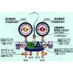 デンゲン:マニホールドゲージ3バルブ方式 カーエアコン修理機器 CP-MG313N-DX