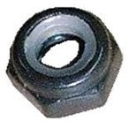 (後払い不可)(代引不可)SHIKISHIMA:ナイロンナットM5 外径8mm ブラック バラ