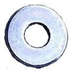 (後払い不可)(代引不可)SHIKISHIMA:平ワッシャー 5×14×1.0 バラ