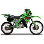 MDF(エムディーエフ) :グラフィックキット オフロード アタッカーモデル (カワサキ) KDX125SR (全年式) フロントフェンダーセットグリーン MKDX125-A-GR-FF