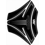 MOTOGRAFIX(モトグラフィックス):タンクパッド ブラック/シルバー KAWASAKI GTR1400 MT-TK013K
