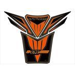 MOTOGRAFIX(モトグラフィックス):タンクパッド MT-09 オレンジ/ブラック/ゴールドMT-TY022KOA