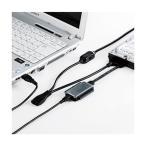 サンワサプライ:IDE/SATA-USB変換ケーブル USB-CVIDE2N