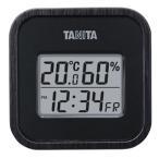 タニタ:デジタル温度計 木目調 ブラック 料理 調理器具 おしゃれ お洒落 TT571BK