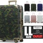 スーツケース アウトレット 安い 訳あり LLサイズ アルミ フレーム 大型 ハード キャリーケース 超静音 8輪 軽量 TSA キャリーバッグ トランク Proevo