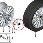 BMW MINI ミニ ホイールセンターキャップ 1個 F54 F55 F56 F57 36136857149 ミニ純正部品