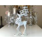 ハルモニア White Deer Candle Holder HM6794 送料無料(一部地域をのぞきます。)の写真