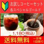 ショッピングお試しセット 100-1502 お試しコーヒーセット 送料無料 150g×2福袋 (珈琲 コーヒー)