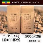モカ コーヒー豆 イルガチャフェナチュラル 500g×2袋