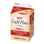 UCC(業務用) カフェプラス 乳脂肪入り GT 500ml×12個