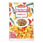 (単品) UCC業務用 カゴメ 彩り野菜ミックス 1kg(冷凍) 野菜 食材