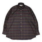INDIVIDUALIZED SHIRTS(インディビジュアライズドシャツ) Over Sized Long Sleeve B.D Shirts メンズ オーバーサイズ 長袖シャツ チェック S M L IS2021279