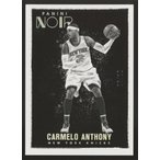 Carmelo Anthony 15/16 Panini Noir Base Black & White Platinum 06/10