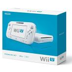 Wii U 本体 プレミアムセット shiro  白(WUP-S-WAFC)※付属品欠品あり (管理:463024)