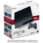 PS3 プレステ3 本体 (160GB) チャコール・ブラック (CECH-3000A) (管理:461035)