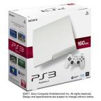 PS3 プレステ3 本体  (160GB) クラシック・ホワイト (CECH-3000A LW) (管理:461037)※外箱、中箱なし