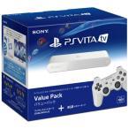 ショッピングPS PS Vita TV 本体 Value Pack コントローラー付(ホワイト) (VTE-1000AA01) (管理:470027)