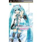 (PSP) 初音ミク -Project DIVA- extend (特典なし) (管理:390806)
