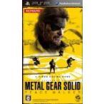 (PSP) メタルギア ソリッド ピースウォーカー (管理:390214)