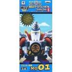 ワンピース MEGAワールドコレクタブルフィギュア vol.1 MG01 フランキー将軍(バンプレスト)(管理:455475)