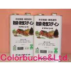 ロック ナフタデコール 4L 屋外木部用着色剤(油性) 防腐 防虫 防カビ効果