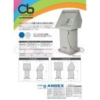 アンデックス カラーボーイ CB-2 簡易排気塗装ブース 100V電源 強力350Wシロッコファン