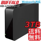 【送料無料】BUFFALO★外付けHDD 3TB★HD-LC3.0U3-BK PC・TVに/USB3.0 USB2.0対応/Windows/Mac/バッファロー