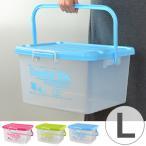 収納ケース ドリーミングボックス 幅45.8×奥行38.5×高さ25.5cm Lサイズ フタ付き 持ち手付き ( 収納ボックス おもちゃ箱 収納 プラスチック )