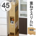 ゴミ箱 2段重ねダンボールダストボックス 45L 日本製 ( ごみ箱 分別ゴミ箱 ダストボックス )