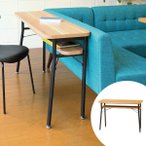 ダイニング カウンターテーブル スチールフレーム ケティル 幅100cm ( テーブル カウンター ハイテーブル アイアン バーテーブル 木製 おしゃれ )