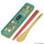 コンビセット 箸・スプーン スターウォーズ カタカナコレクション 音の鳴らないクッション付 18cm ( 食洗機対応 はし ケース付き )