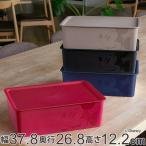収納ボックス ふた付き レギュラーサイズ ミッキーマウス スクエアBOX ( 収納ケース 収納 小物入れ カラーボックス )