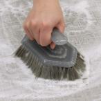 風呂掃除 角効く バスブラシ ユニットバス用 ( 風呂 ブラシ 掃除ブラシ 風呂用ブラシ )