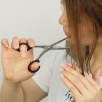 ハサミ 髪 ステンレス製スキはさみ 40〜50% 日本製 ( ヘアカットハサミ ヘアカット 散髪ハサミ )
