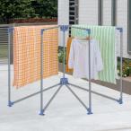 布団干し 簡単組立式扇形ふとんほし 物干し 屋外 コンパクト 扇形 ( 扇型 ふとん干し 4枚 台 )