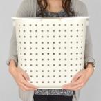 Yahoo!お弁当グッズのカラフルボックスランドリーバスケット レクエア L ( ランドリーボックス 洗濯かご 脱衣かご )|新商品|06
