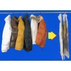 衣類圧縮袋 ハンガーにそのままつるせる衣類圧縮袋 ショート ( クローゼット用 収納 )