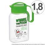 冷水筒 ラストロ タテヨコ クリアピッチャー 1.8L くまのプーさん ( ピッチャー 冷水ポット 麦茶ポット )